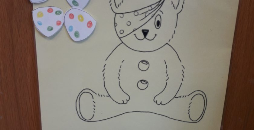 Pudsey the bear child's game