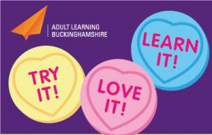 Love hearts for Try It, Love It, Learn It week