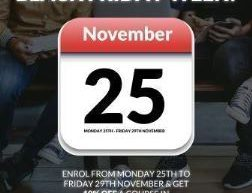 Black Friday Week sale starts 25 November