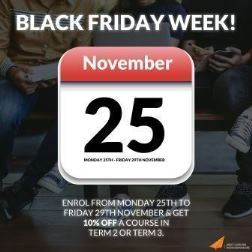 Black Friday Week sale starts 25 November
