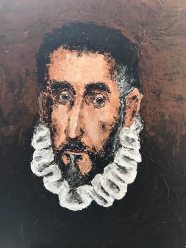 Copy of El Greco Self-Portrait
