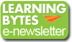 Learning Bytes e-newsletter button