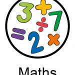 Numbers and maths signs