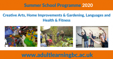 Summer School Programme 2020 advert