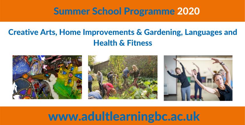 Summer School Programme 2020 advert
