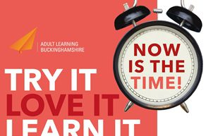 Try It Love It Learn It with Now is the Time Clock