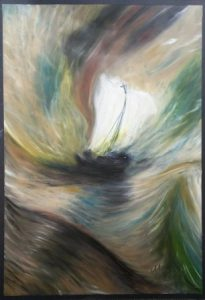 Copy of Turner's Storm at sea painting