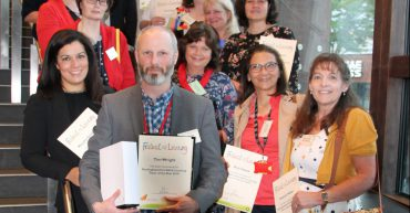 Group of tutors at Adult Learning Awards