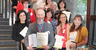 Group of tutors nominated for Tutor of the Year Award