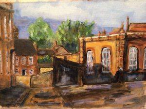 Painting of a building in Chesham