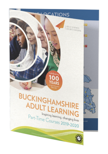 Image of Adult Learning course brochure 2019-2020
