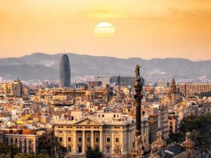 Landscape photograph of Barcelona